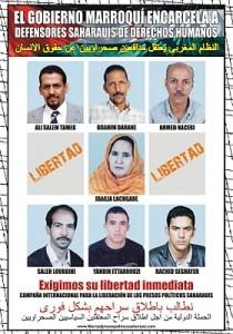 Activistas politicos saharauis presos
