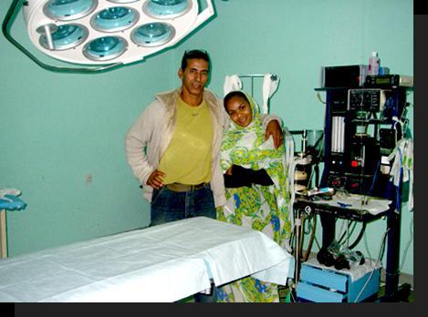Hospital de Rabuni, centro de mamografias.