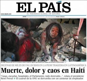 Portada El Pais Haiti