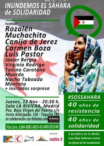 Jueves, 12 de noviembre 2015, Sala La Rivera, Madrid.