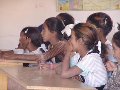Niños en escuela saharaui