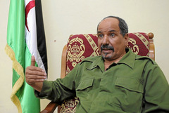 Mohamed Abdelaziz, Presidente de la República Árabe Saharaui Democrática (RASD)